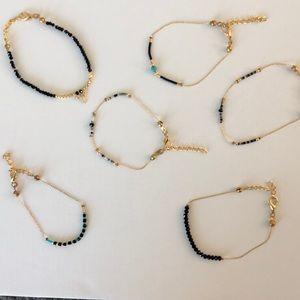 Ellie Madison Designs gold plated bracelets
